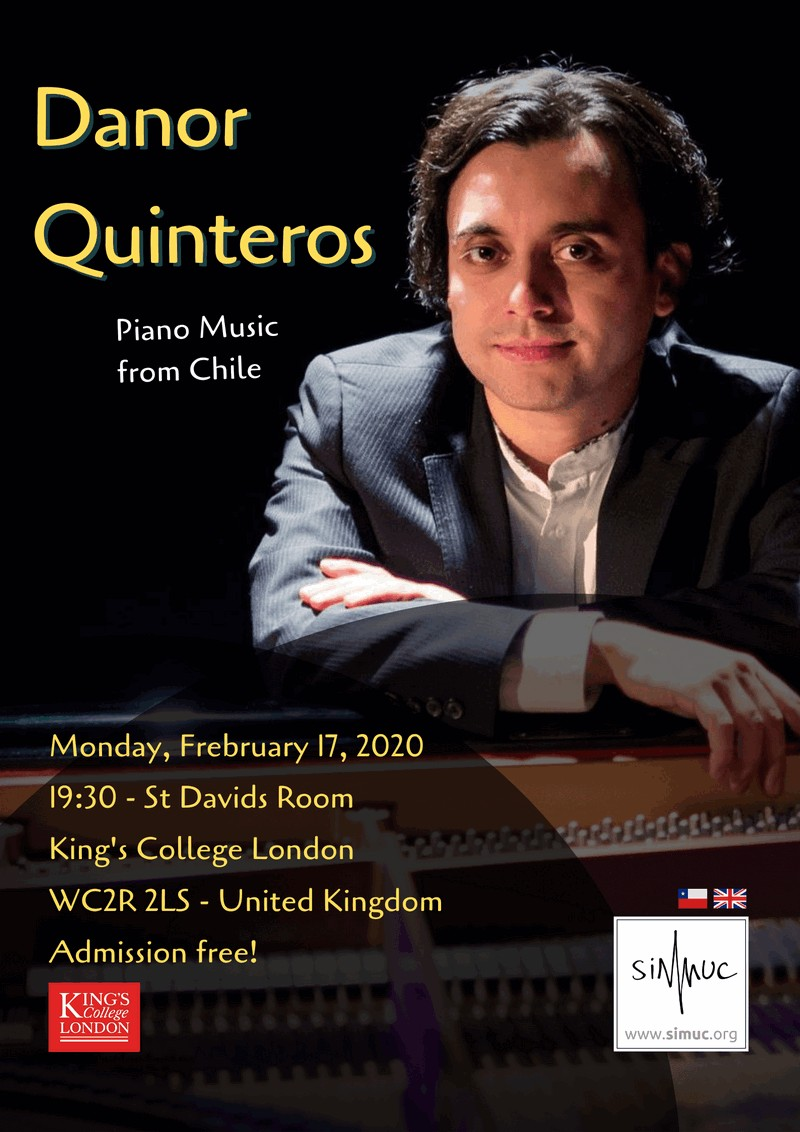 SIMUC-Concert: Danor Quinteros in London