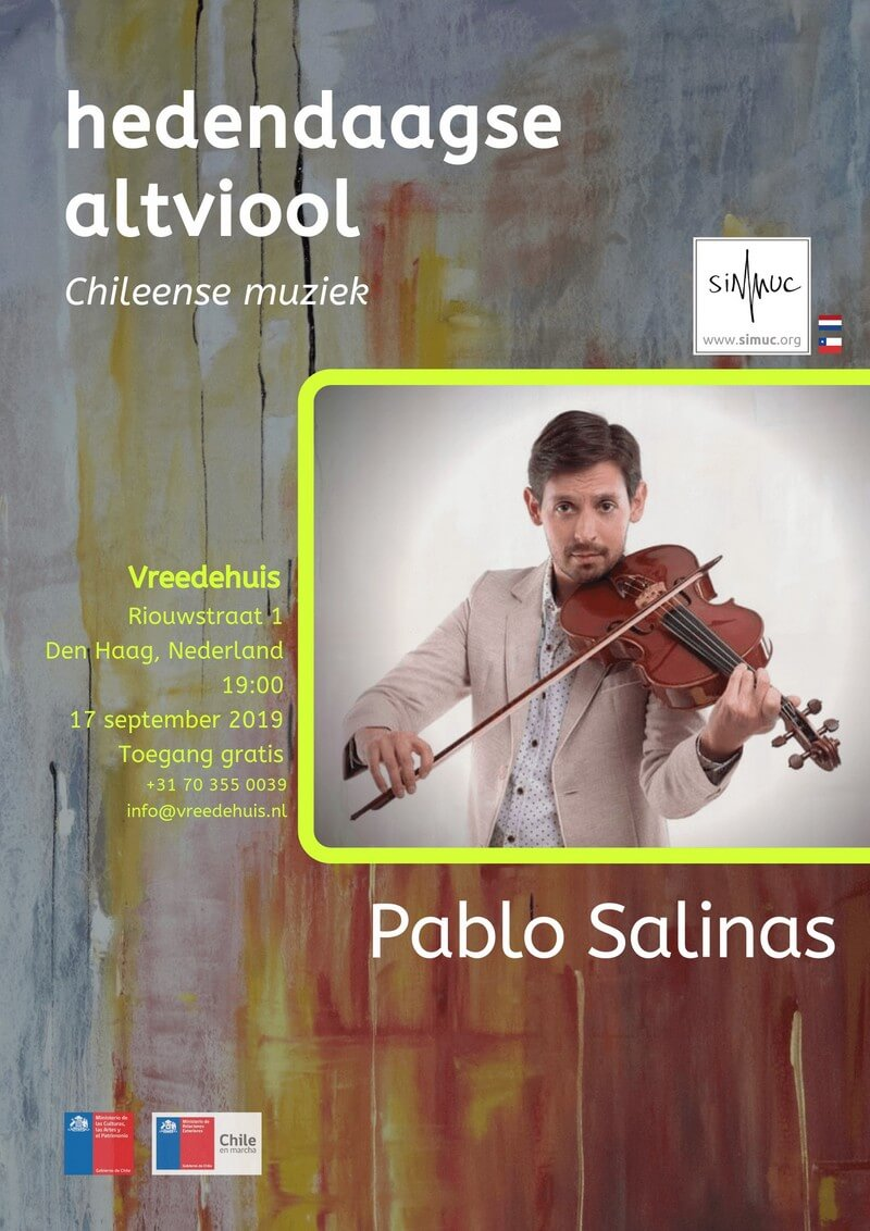 SIMUC-Concert: Pablo Salinas in The Hague