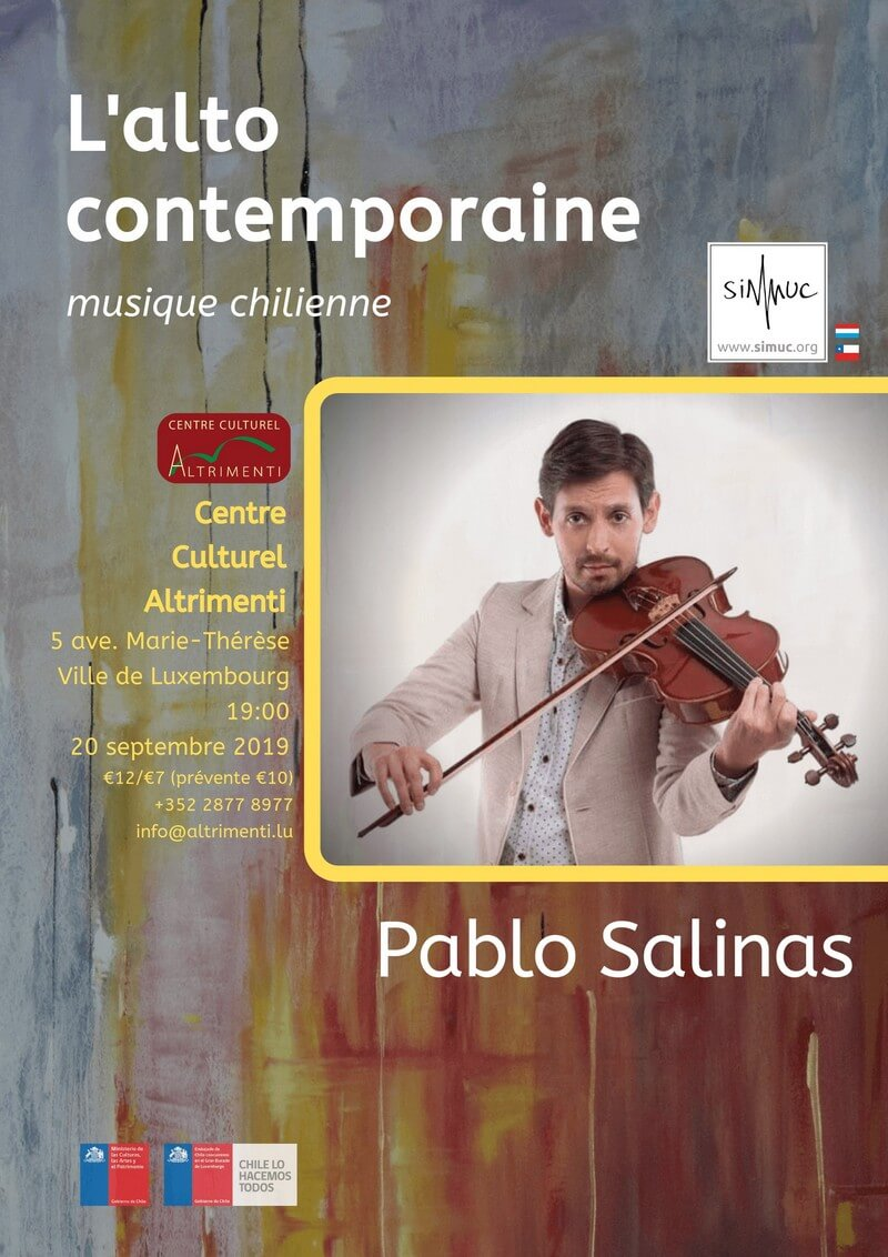 Pablo Salinas in Luxembourg